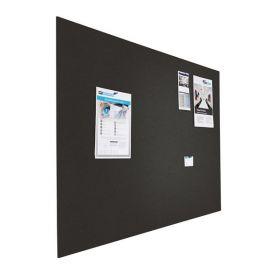 Prikbord bulletin - Zwevend - 120x180 cm - Zwart 1