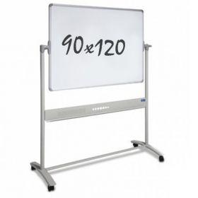 verrijdbaar whiteboard 90 x 120 cm