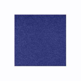 Akoestisch wandpaneel PET-vilt - 100x100 cm - Donkerblauw