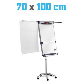 Flipover Nobo Piranha - Whiteboard 70x100 cm - Magnetisch - Mobiel *OUTLET*