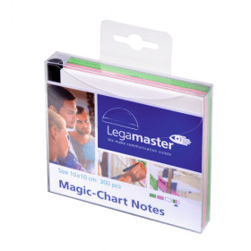 Magic-Chart Notes 10x10 cm - Assorti - 300 stuks