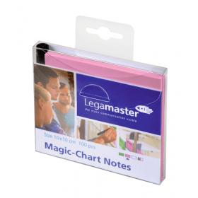 Magic-Chart Notes 10x10 cm - Roze - 100 stuks 1