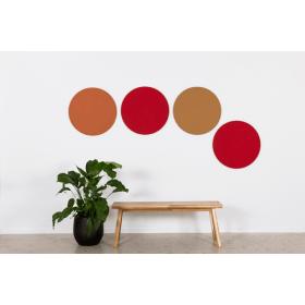 Chameleon design prikbord rond - keuze uit vele kleuren