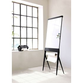 STRUIS design board - Flipover / whiteboard magnetisch emaille - Mobiel / inklapbaar