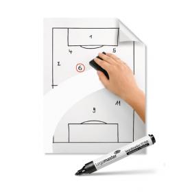 Magic-Chart Whiteboard sheets op rol - 60x80 cm - 25 stuks 1