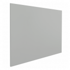 Whiteboard zonder rand - 100x100 cm - Grijs